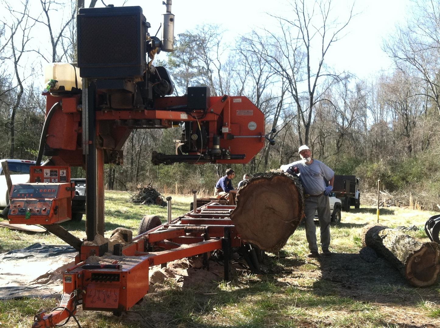 Portable Sawmill Rental >> Lynchco Llc Portable Sawmill Custom Lumber In Wake Franklin